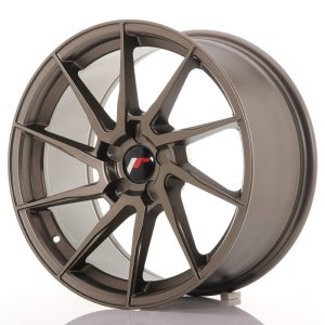 Japan Racing JR36 18x9 ET20-48 5H BLANK Matt Bronze
