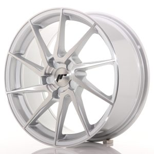 Japan Racing JR36 18x9 ET20-48 5H BLANK Brushed Si