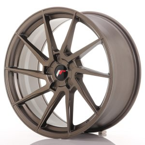 Japan Racing JR36 19x8,5 ET20-45 5H BLANK Matt Bronze