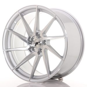 Japan Racing JR36 20x10 ET40 5x112 Silver Brushed Face
