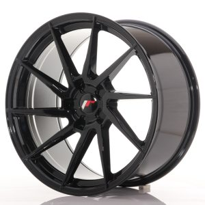 Japan Racing JR36 20x10 ET20-45 5H BLANK Glossy Black