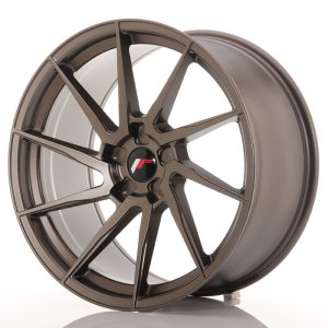 Japan Racing JR36 20x10 ET20-45 5H BLANK Matt Bronze
