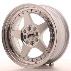 Japan Racing JR6 16x7 ET20-35 BLANK Machined Silver