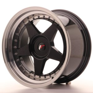 Japan Racing JR6 18x10,5 ET0-25 BLANK Glossy Black