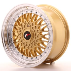 Japan Racing JR9 16x8 ET25 BLANK Gold