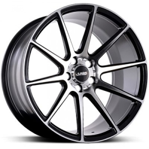 ABS Wheels ABS335 9,5x19 ET 38 Black Polished