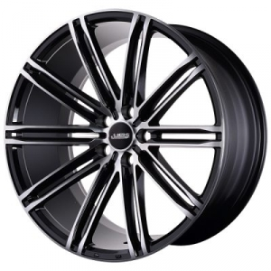 ABS Wheels ABS344 8,5x19 ET 38 Black Polished