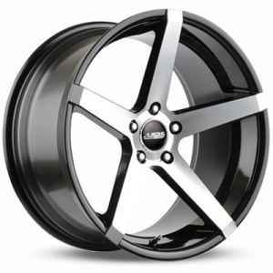 ABS Wheels ABS355 10x20 ET 35 Black Polished