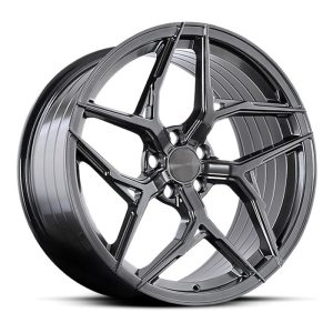 ABS Wheels F33 Left 8,5x20 ET35 Hyper Black