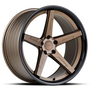 ABS Wheels F55 9,5x19 ET35 Bronze / Black Lip