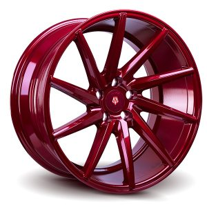 Imaz Wheels IM5 Left 8,5x19 ET38 NAV 74,1 Candy Red