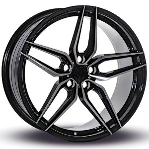 Imaz Wheels FF517 8,5x20 ET38 NAV 74,1 Black Polished