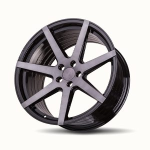 Imaz Wheels FF556 8,5x19 ET38 NAV 74,1 Dark Tint Brush