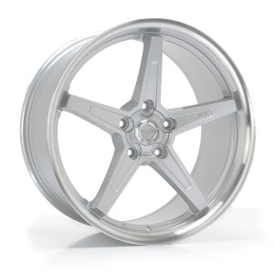 Imaz Wheels FF660 8,5x20 ET38 NAV 74,1 Silver Machined Lip