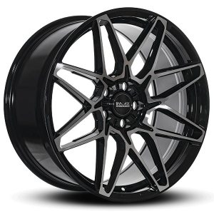 Imaz Wheels FF481 9,5x19 ET40 NAV 74,1 Black Polished