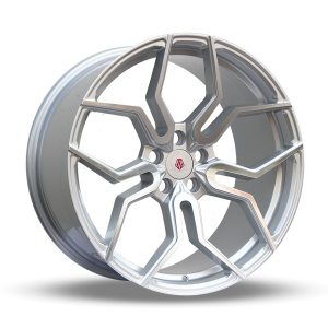 Imaz Wheels FF551 9,5x19 ET42 NAV 74,1 Silver Polished
