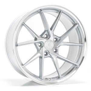 Imaz Wheels FF689 8,5x20 ET38 NAV 74,1 Silver Machined Lip
