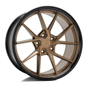 Imaz Wheels FF689 8,5x20 ET38 NAV 74,1 Bronze Black Lip