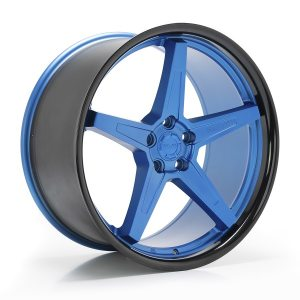 Imaz Wheels FF660 9,5x19 ET42 NAV 74,1 Blue Black Lip