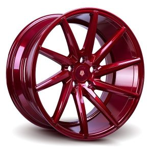 Imaz Wheels IM5 Right 9.5x19 ET38 Candy Red