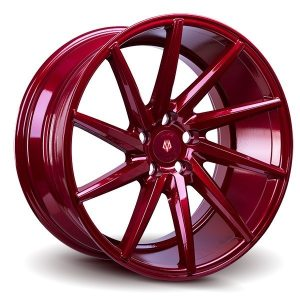 Imaz Wheels IM5 Left 8.5x19 ET38 Candy Red