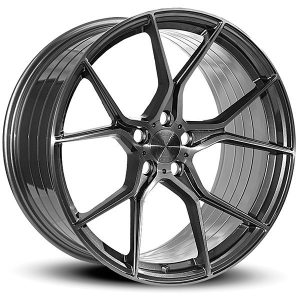 Imaz Wheels FF588 8.5x20 ET38 DGM BRUSHED FACE
