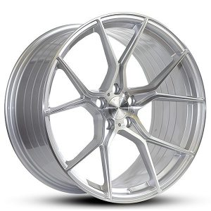 Imaz Wheels FF588 10x20 ET43 SILVER BRUSHED FACE