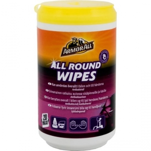 Armor All All Round Wipes, 20st