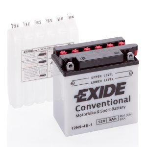 MC-batteri 4503 EXIDE MC 12N9-4B-1 9Ah 85A(EN)