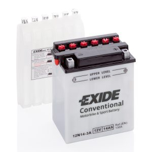 MC-batteri 4521 EXIDE MC 12N14-3A 14Ah 130A(EN)