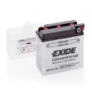 MC-batteri 4542 EXIDE MC 6N11A-1B 11Ah 95A(EN)