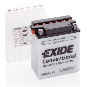MC-batteri 4579 EXIDE MC EB12AL-A2 12Ah 165A(EN)