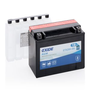 MC-batteri 4598 EXIDE MC ETX20H-BS 18Ah 270A(EN)
