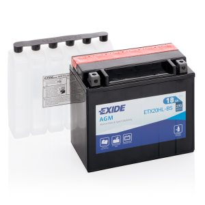 MC-batteri 4599 EXIDE MC ETX20HL-BS 18Ah 270A(EN)