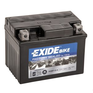 MC-batteri 4908 EXIDE MC AGM12-4 3Ah 50A(EN)