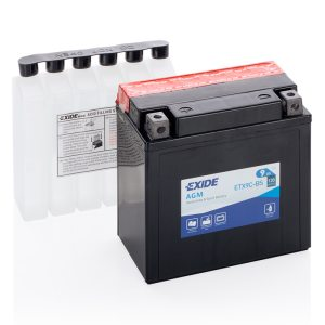 MC-batteri 4962 EXIDE MC ETX9C-BS 9Ah 120A(EN)