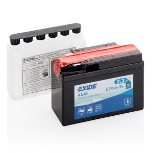 MC-batteri 4972 EXIDE MC ETR4A-BS 2,3Ah 35A(EN)