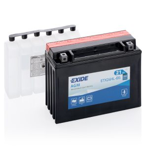 MC-batteri 4994 EXIDE MC ETX24HL-BS 21Ah 350A(EN)