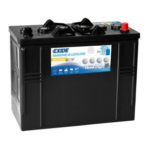 Fritidsbatteri ES1300 EXIDE EQUIPMENT GEL 120Ah 1300Wh 750A(EN)