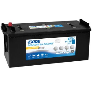 Fritidsbatteri ES1350 EXIDE EQUIPMENT GEL 120Ah 1350Wh 620A(EN)
