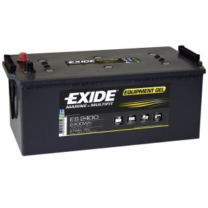 Fritidsbatteri ES2400 EXIDE EQUIPMENT GEL 210Ah 2400Wh 1030A(EN)