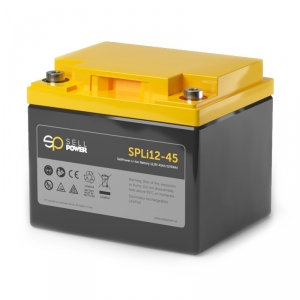 Batteri SellPower SPLi LITIUM 45Ah 576Wh 12,8V