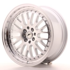 Japan Racing JR10 17x8 ET35 4x100/114 Machined Silver