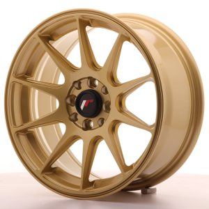 Japan Racing JR11 16x7 ET25 4x100/108 Gold