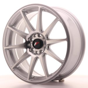 Japan Racing JR11 18x7,5 ET40 5x112/114 Silver Machined