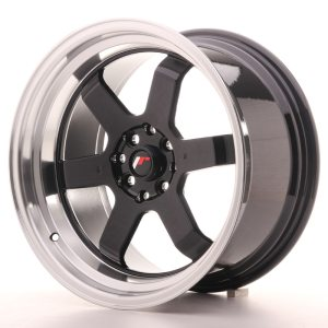 Japan Racing JR12 17x9 ET25 5x112/120 Glossy Black