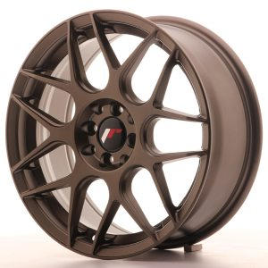Japan Racing JR18 17x7 ET40 5x100/114 Matt Bronze