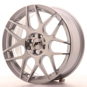 Japan Racing JR18 17x7 ET40 5x100/114 Silver Machined
