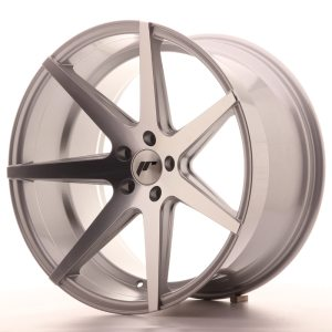 Japan Racing JR20 20x11 ET30 5x112 Silver Machined