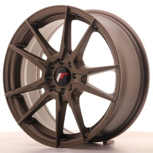 Japan Racing JR21 17x7 ET40 5x108/112 Matt Bronze